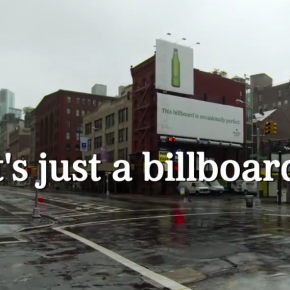 Heineken : un billboard occasionnellement parfait !