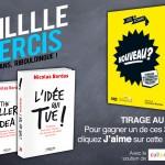 Milllle Mercis : tentez de gagner les livres de Nicolas Bordas et Joe La Pompe !