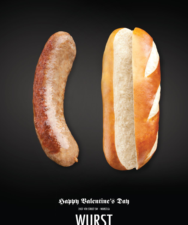 llllitl-wurst-saucisse-canada-pain-publicité-saint-valentin-day-2012