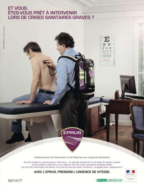 llllitl-Etablissement de Préparation et de Réponse aux Urgences Sanitaires (EPRUS)-tbwa-corporate-publicité-mars-2012