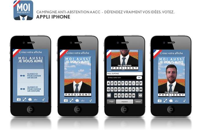 llllitl-aacc-association-agences-conseil-communicaiton-élections-2012-présidentielle-publicité-vote-abstention-jwt-paris-appli-iphone