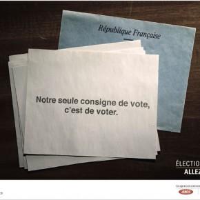 Election 2012 : la publicité interpelle les candidats et les français !