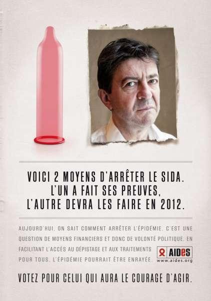 llllitl-aides-publicité-contre-le-sida-mars-2012-élection-présidentielle-jean-luc-mélenchon