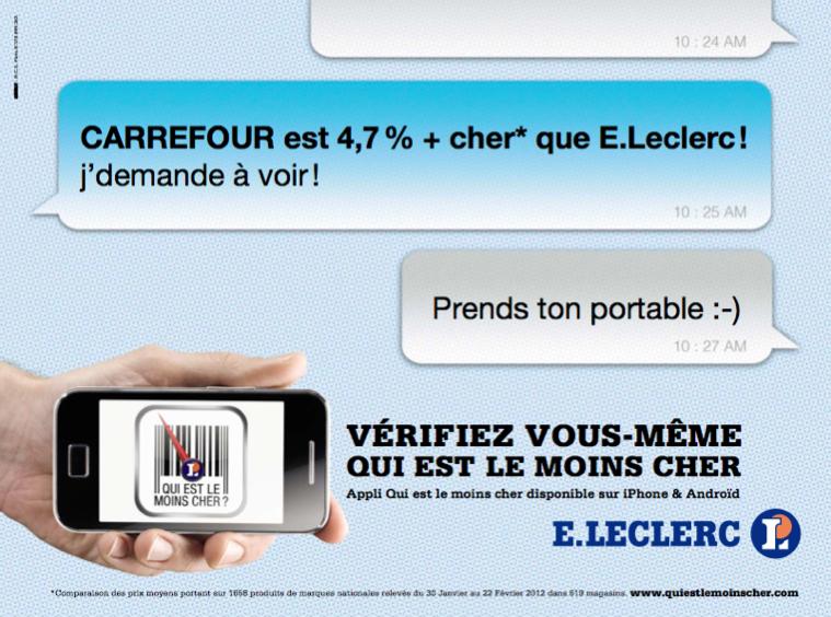 llllitl-e-leclerc-publicité-print-avril-2012-agence-australie-qui-est-le-moins-cher-publicité-comparative-grande-distribution-hypermarchés