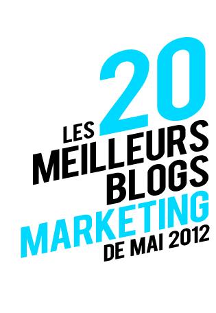 les 20 meilleurs blogs marketing de mai 2012llllitl. Black Bedroom Furniture Sets. Home Design Ideas
