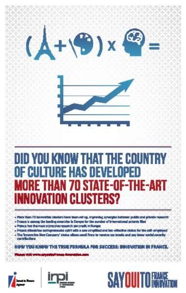 llllitl-l'AFII (Agence Française pour les Investissements internationaux) et de l'INPI (Institut National de la Propriété Industrielle)-publicité-print-advertising-commercia-ad-say-oui-to-france-say-oui-to-innovation-agence-publicis-consultants
