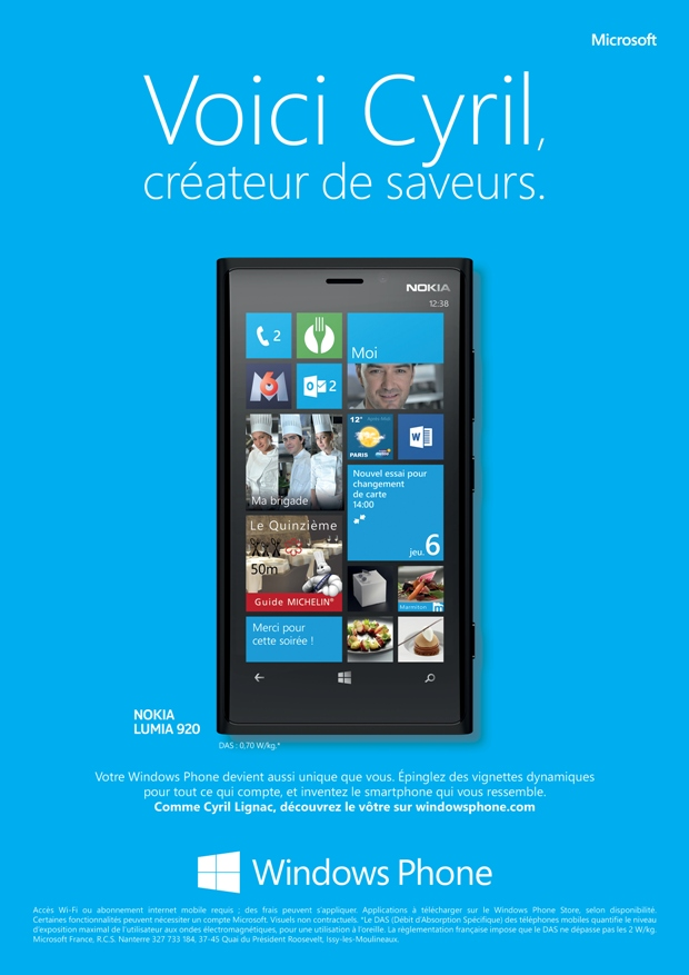 llllitl-microsoft-windows-phone-publicité-print-advertising-marketing-cyril-lignac-florent-laure-manaudou-guest-stars-france-wunderman-paris