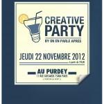Creative Party : la 1ère soirée organisée par un team créatif ! #CreativeParty