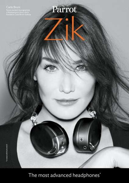 llllitl-parrot-publicité-marketing-advertising-print-commercial-headphones-audio-sound-carla-bruni-beth-ditto-jean-baptiste-mondino-paris-france