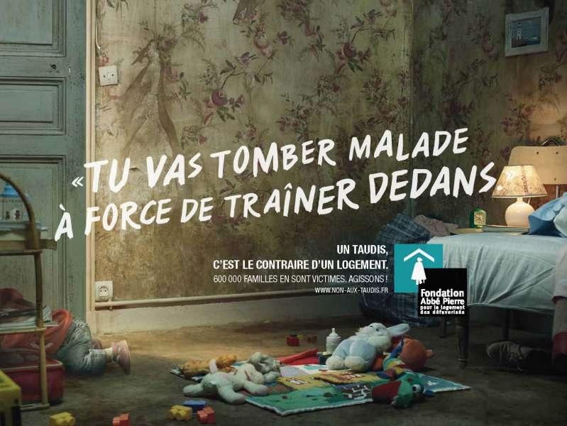 llllitl-fondation-abbé-pierre-logement-sdf-taudis-mal-logement-hiver-2012-publicité-marketing-print-affichage-enfants-maladies-père-noël-froid-france-agence-bddp-unlimited
