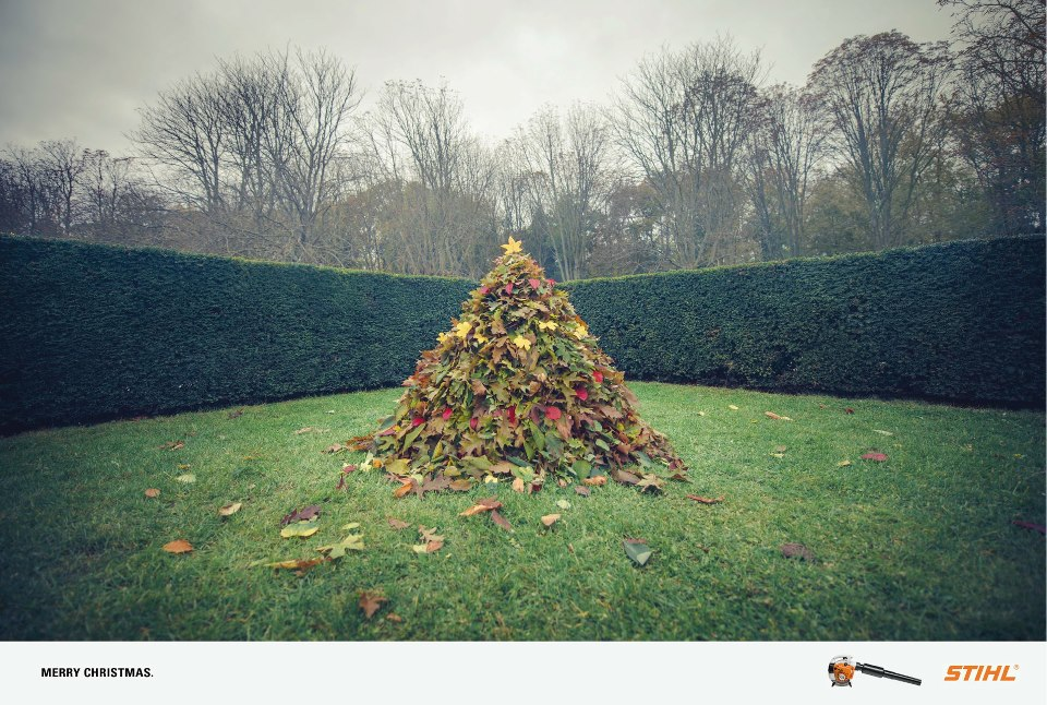 llllitl-stihl-publicis-conseil-print-publicité-commercial-feuilles-rammasser-sapin-noël-2012