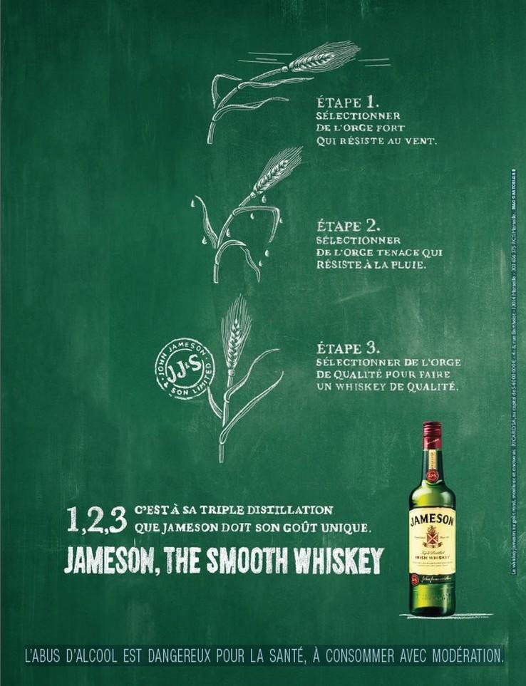 llllitl-jameson-whisky-publicité-print-affichage-triple-distillation-agence-m&c-saatchi-gad