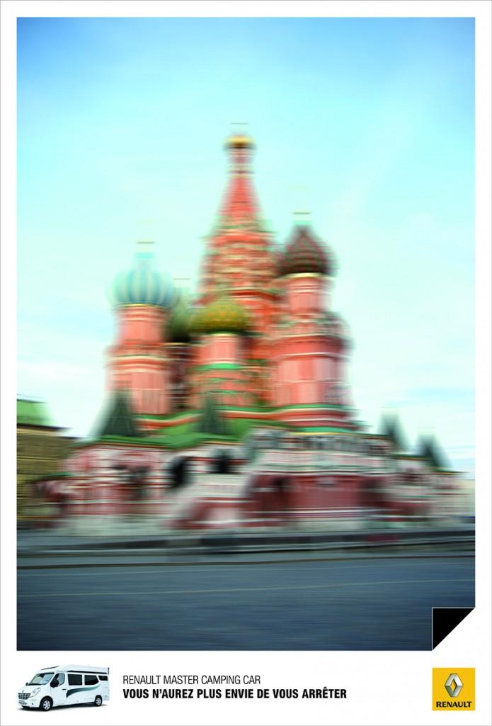 llllitl-renault-publicité-marketing-print-presse-affiche-vacances-soleil-route-voiture-photo-camping-car-vitesse-tour-de-pise-moscou-mont-saint-michel-agence-publicis-conseil-2