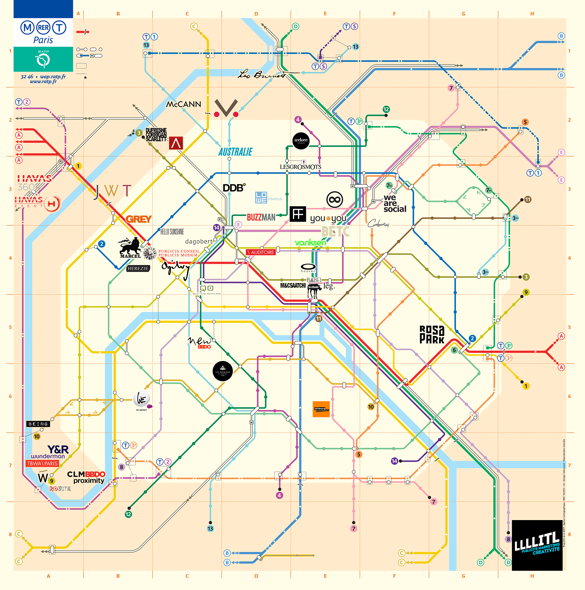 llllitl-carte-plan-paris-des-agences-de-publicité-plan-de-metro-lignes-logos-agences-france-paris-french-ad-agencies-parisian-road-map-subway-ratp-rer