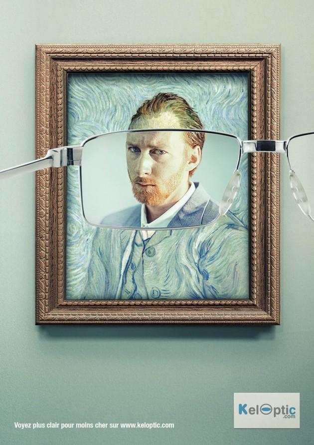 llllitl-keloptic-opticien-en-ligne-ecommerce-lunettes-promotions-pas-cher-publicité-marketing-peintures-vincent-van-gogh-seurat-claude-monet-agence-young-and-rubicam-voyez-plus-clair-pour-moins-cher