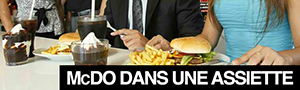 McDonalds : bientt le service  table, dans des assiettes !