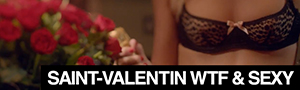 Saint-Valentin : 15 publicits wtf et sexy !