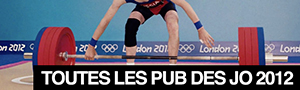 Toutes les publicits des Jeux Olympiques de Londres 2012 ! #JO2012