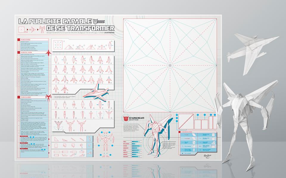 llllitl-hasbro-transformers-toy-publicité-papier-print-ad-foldable-pliable-paper-toy-paper-art-agence-ddb-paris
