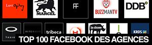 Top 100 des agences de publicité sur Facebook