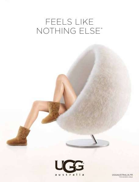 ugg-australia-chaussures-bottes-shoes-feel-sexy-publicité-marketing-advertising-agence-red