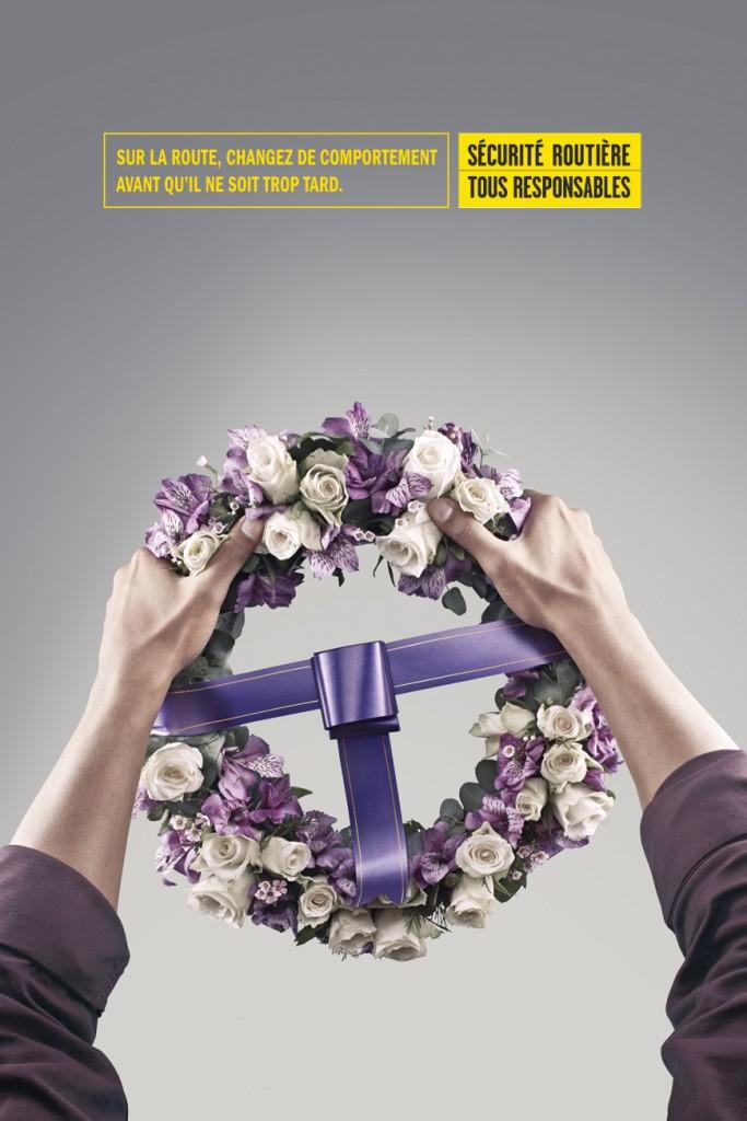 securite-routiere-courrone-volant-publicité-choc-mort-automobile-voiture-la-reunion-france-agence-facto-saatchi-saatchi