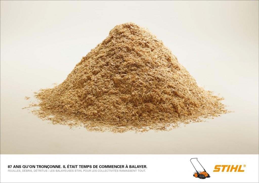 stihl-publicité-marketing-feuilles-tronconneuses-agence-publicis-conseil