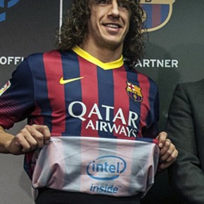 Intel met son logo sous le maillot du FC Barcelone