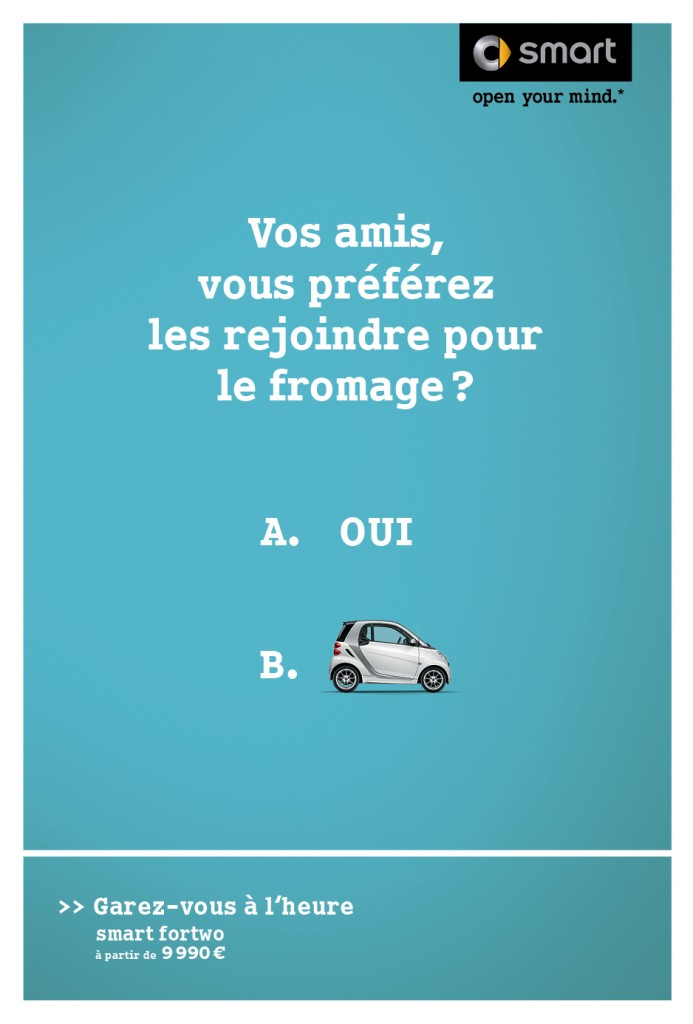smart-publicité-marketing-affiche-print-garez-vous-à-lheure-question-oui-non-clm-bbdo-5