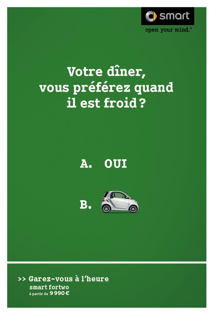 smart-publicité-marketing-affiche-print-garez-vous-à-lheure-question-oui-non-clm-bbdo-6