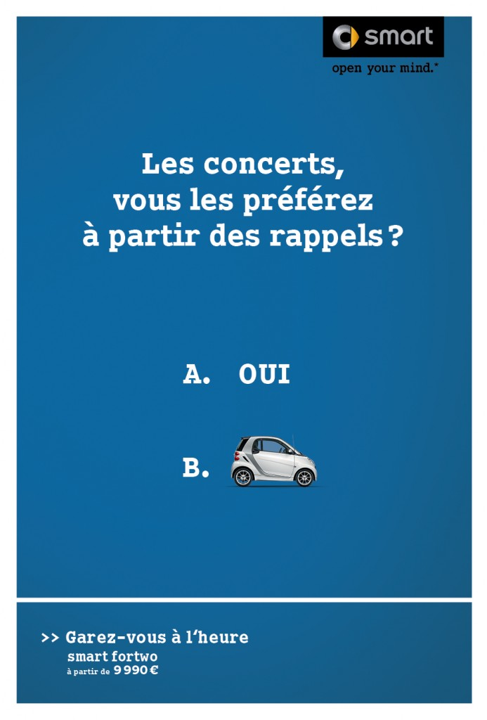 smart-publicité-marketing-affiche-print-garez-vous-à-lheure-question-oui-non-clm-bbdo-8