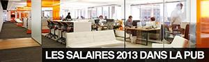 Les salaires de 42 métiers en agence de publicité