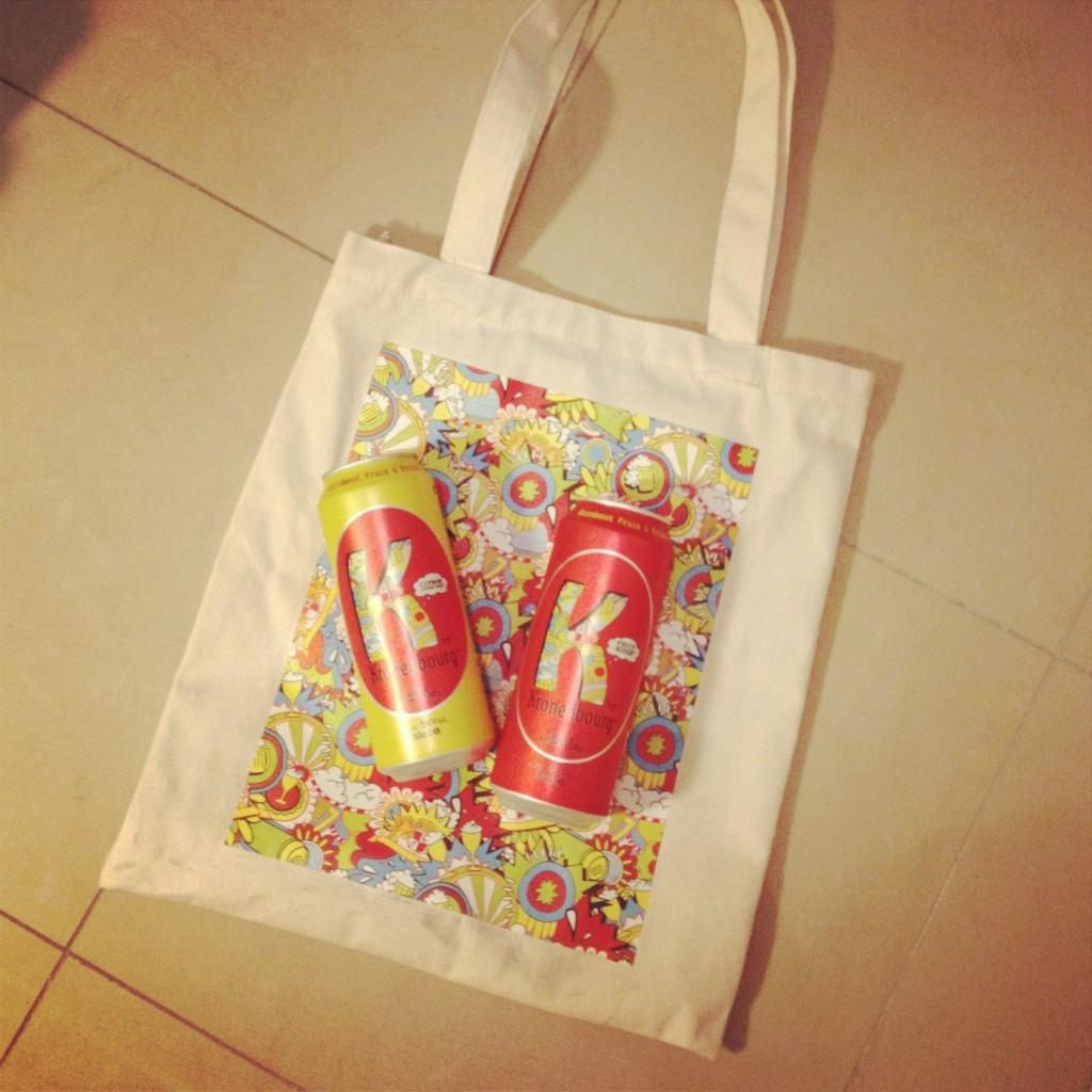 k-kronenbourg-nouvelle-bière-marketing-jeunes-lancement-tote-bags-cadeaux-à-gagner-jeu-concours-3