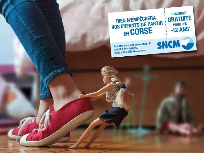 sncm-corse-compagnie-maritime-publicité-marketing-enfants-moins-12-ans-print-jouets-toy-story-agence-change-2