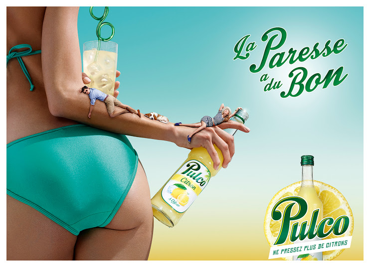 pulco-publicité-marketing-print-été-2014-la-paresse-a-du-bon-ne-pressez-plus-de-citrons-fraicheur-paille-agence-fred-farid-4