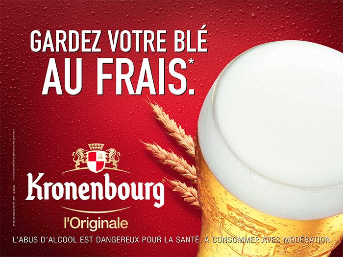 kronenbourg-publicité-marketing-marque-bière-france-gardez-votre-blé-au-frais-on-a-un-grain-savoir-l'ouvrir-agence-la-chose-1