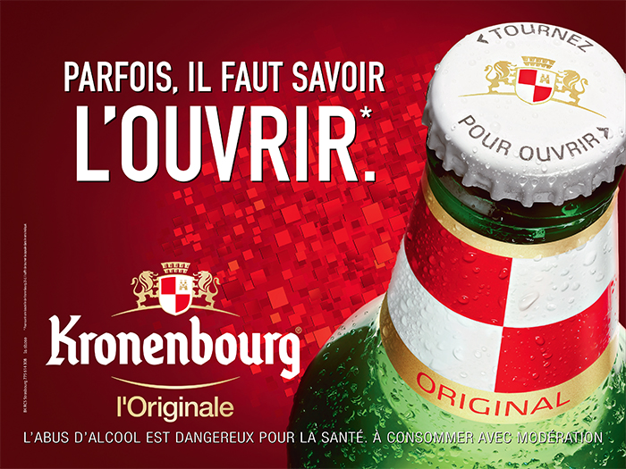 kronenbourg-publicité-marketing-marque-bière-france-gardez-votre-blé-au-frais-on-a-un-grain-savoir-l'ouvrir-agence-la-chose-3
