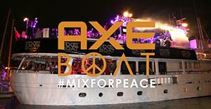 AXE Boat 2014 : gagnez vos 2 invitations pour la soirée de Steve Aoki