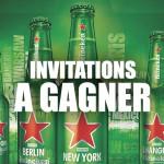 Heineken : 4 invitations à gagner pour la soirée Open Your World