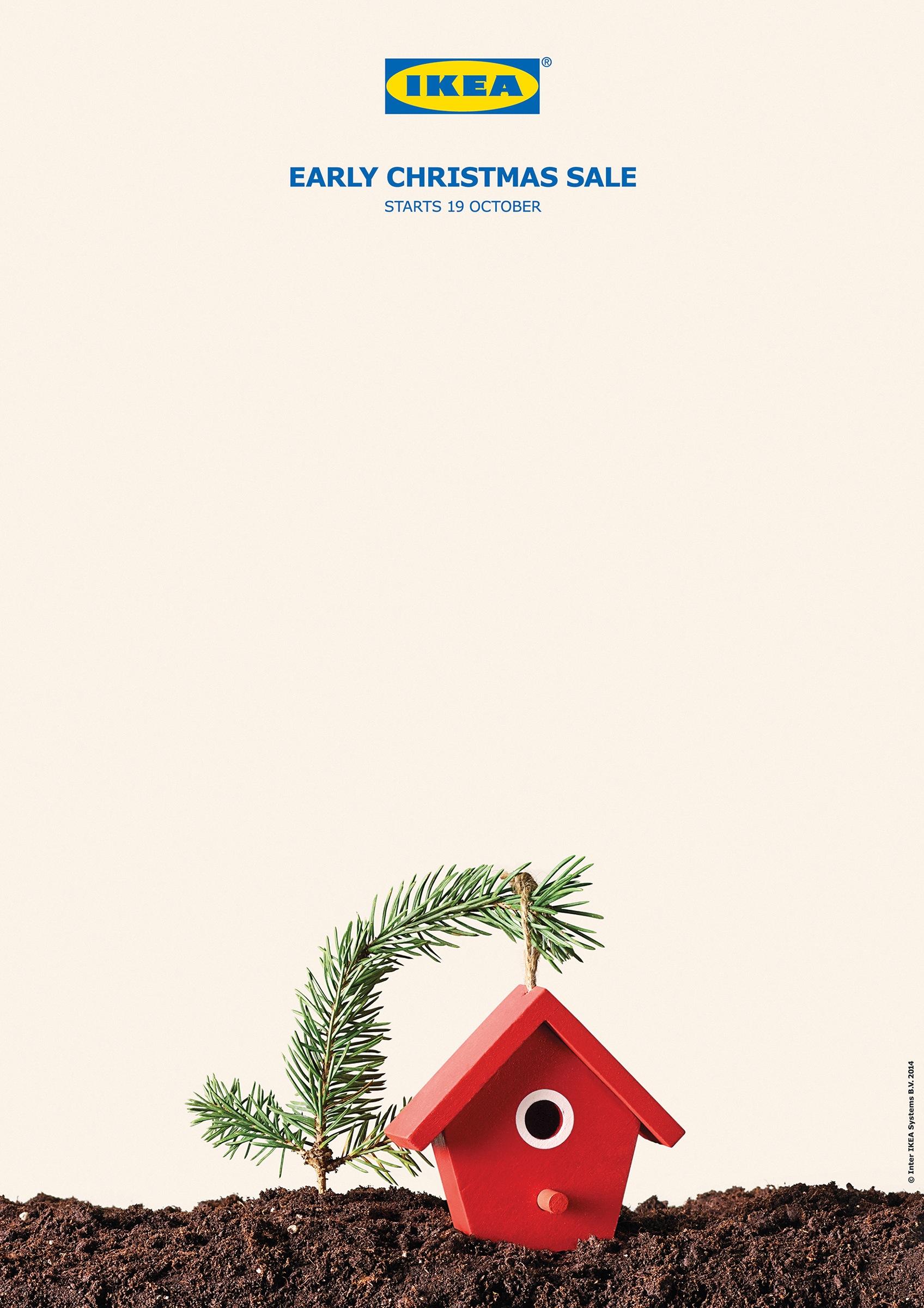 Ikea Decoration Noel Pere Noel