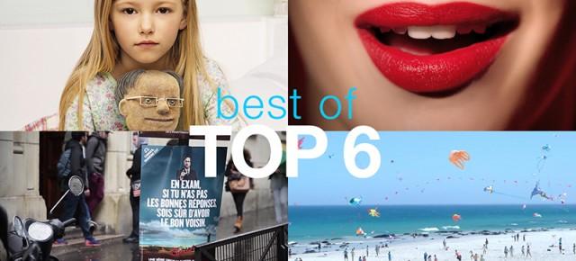 TOP 6 : les meilleures publicités françaises de la semaine