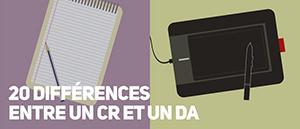 20 différences entre un concepteur rédacteur et un directeur artistique