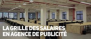 Les salaires en agence de publicité