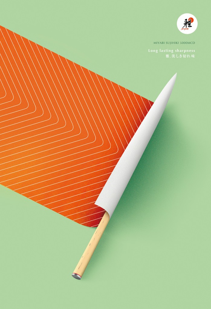 miyabi-sujihiki-sharp-knife-publicité-ad-marketing-print-long-lasting-sharpness-agence-herezie-1