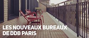Les nouveaux locaux de DDB Paris