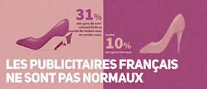les publicitaires français ne sont pas normaux