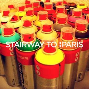 Havas Paris installe 3.000m2 de street art dans ses escaliers