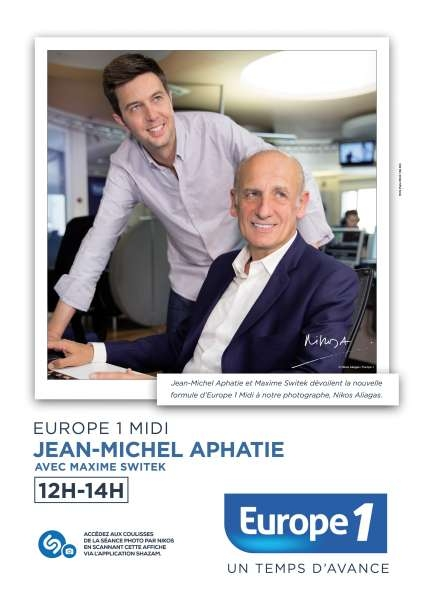 europe-1-publicite-rentrée-2015-animateurs-nikos-aliagas-shazam-affichage-4