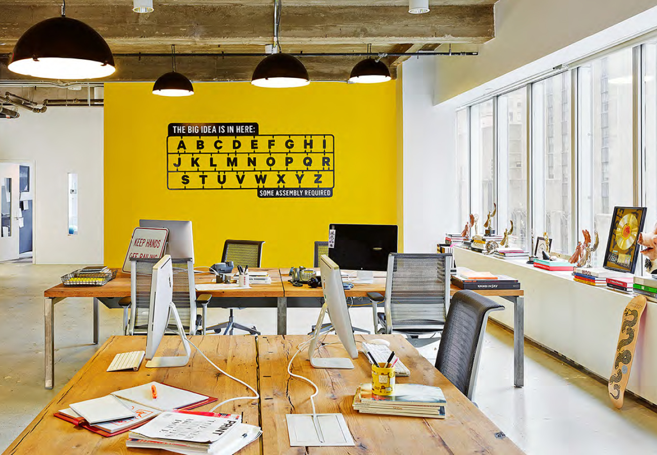 Les bureaux de bbdo new york la meilleure agence du for Bbdo office design 9