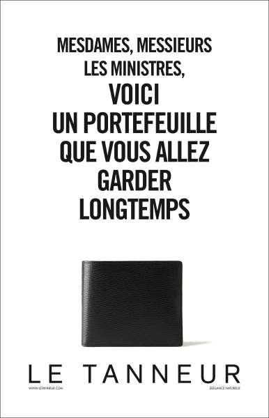 llllitl-le-tanneur-publicité-print-maroquinerie-portefeuille-ministres-avril-2012-agence-beaurepaire